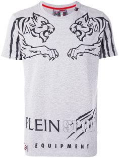 футболка с принтом тигра Plein Sport