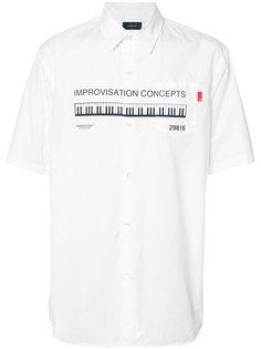 рубашка с принтом Undercover