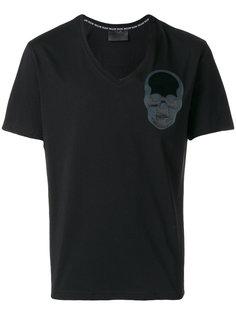 футболка с нашивкой черепа Philipp Plein