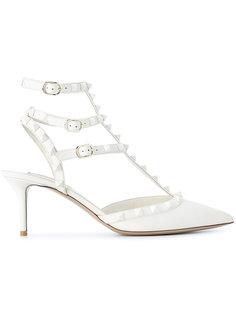 туфли-лодочки с ремешками Valentino Garavani Rockstud Valentino