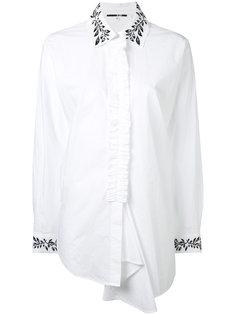 рубашка с рюшами McQ Alexander McQueen