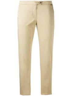 укороченные брюки кроя слим Woolrich