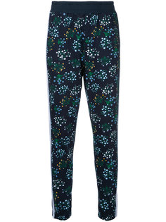 спортивные брюки с цветочным принтом The Upside