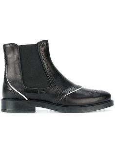 ботинки челси с брогированием Tods Tod`S