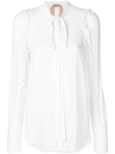 рубашка с оборками  Nº21