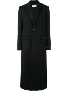 пальто с накладными карманами Red Valentino
