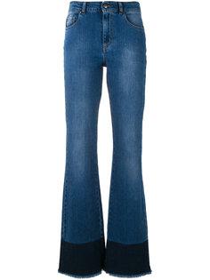джинсы с необработанными краями Red Valentino