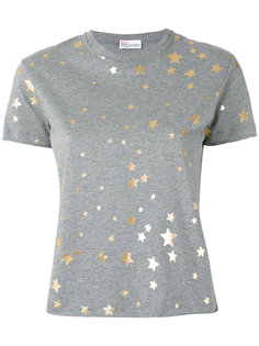 футболка со звездами Red Valentino