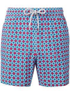 шорты для плавания с принтом Capricode