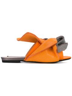 сандалии с перекрученным дизайном Nº21
