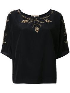 блузка с цветочной вышивкой Vanessa Bruno