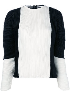 плиссированная блузка с объемными рукавами Haider Ackermann