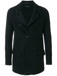 приталенный пиджак с застежкой на пуговицы Giorgio Armani