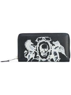 кошелек с гербом Alexander McQueen