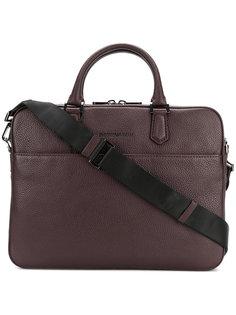 сумка для ноутбука с тиснением Emporio Armani