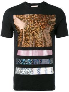 футболка с блестящей отделкой Christopher Kane
