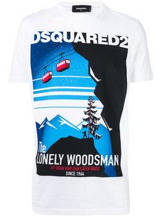 футболка Lonely Woodsman Dsquared2