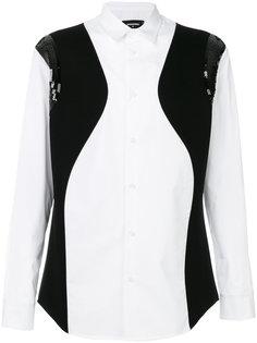 рубашка trompe loeil Dsquared2