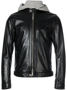куртка с вставкой в стиле худи Dsquared2