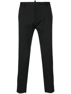 укороченные классические брюки  Dsquared2