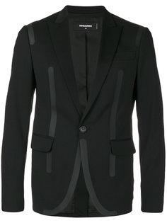 пиджак с контрастной окантовкой Dsquared2