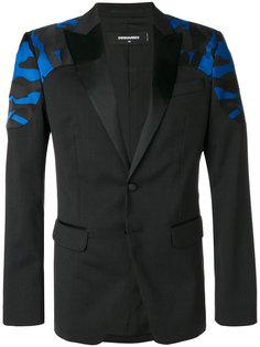 пиджак со вставками с камуфляжным узором Dsquared2
