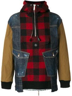 куртка с контрастными вставками Dsquared2