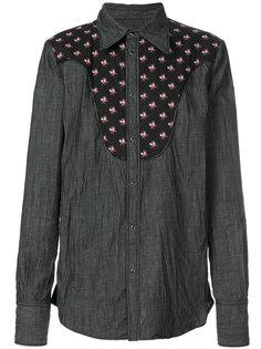 рубашка со вставкой в стиле вестерн Dsquared2