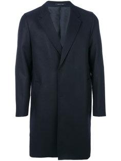 пальто с потайной застежкой Emporio Armani