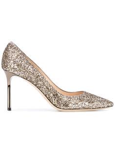 блестящие туфли Romy Jimmy Choo