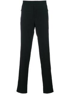 брюки с карманами на молнии Emporio Armani