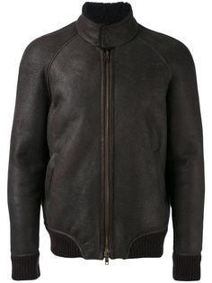 куртка-бомбер с высоким горлом Salvatore Santoro