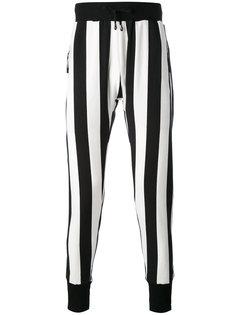 полосатые брюки скинни Unconditional