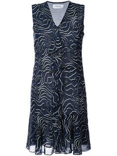 платье мини без рукавов с принтом  Derek Lam 10 Crosby