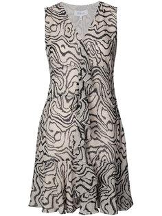 платье с принтом и оборками Derek Lam 10 Crosby