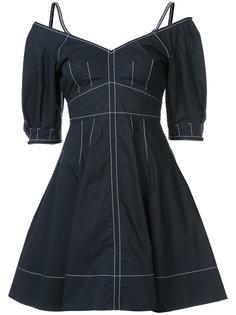 расклешенное платье с вышивкой Derek Lam 10 Crosby