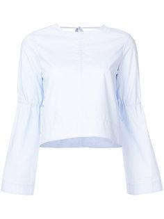 классическая блузка с драпировкой Derek Lam 10 Crosby