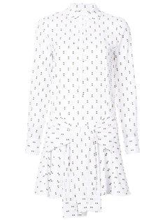 платье-рубашка с запахом Derek Lam 10 Crosby