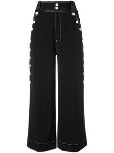 широкие брюки с завышенной талией Derek Lam 10 Crosby