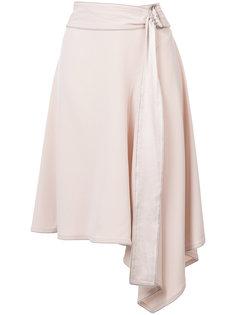 асимметричная юбка с поясом Derek Lam 10 Crosby