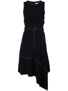 асимметричное платье с поясом Derek Lam 10 Crosby