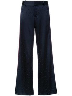 пижамные брюки-палаццо  Derek Lam 10 Crosby