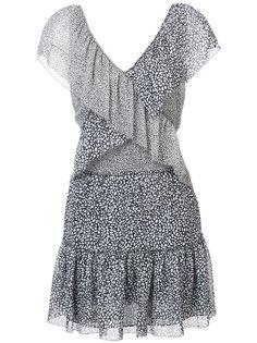платье с вышивкой и оборками Derek Lam 10 Crosby