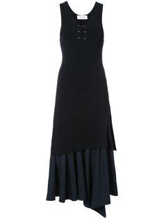 платье без рукавов с оборкой спереди  Derek Lam 10 Crosby