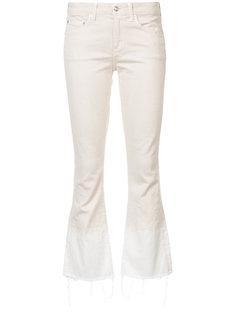 укороченные слегка расклешенные джинсы  Derek Lam 10 Crosby
