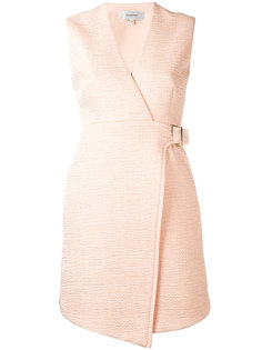 расклешенное платье с запахом Carven