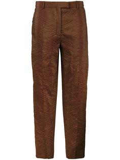 укороченные брюки прямого кроя Nina Ricci