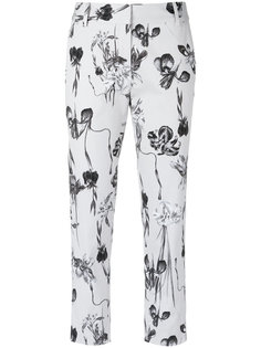 floral cropped trousers Andrea Marques