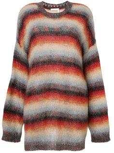 полосатый свободный свитер Chloé