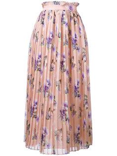 плиссированная юбка MSGM